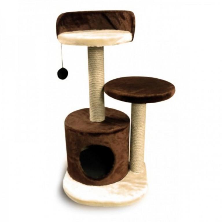 Когтеточка-домик для кошек KD050