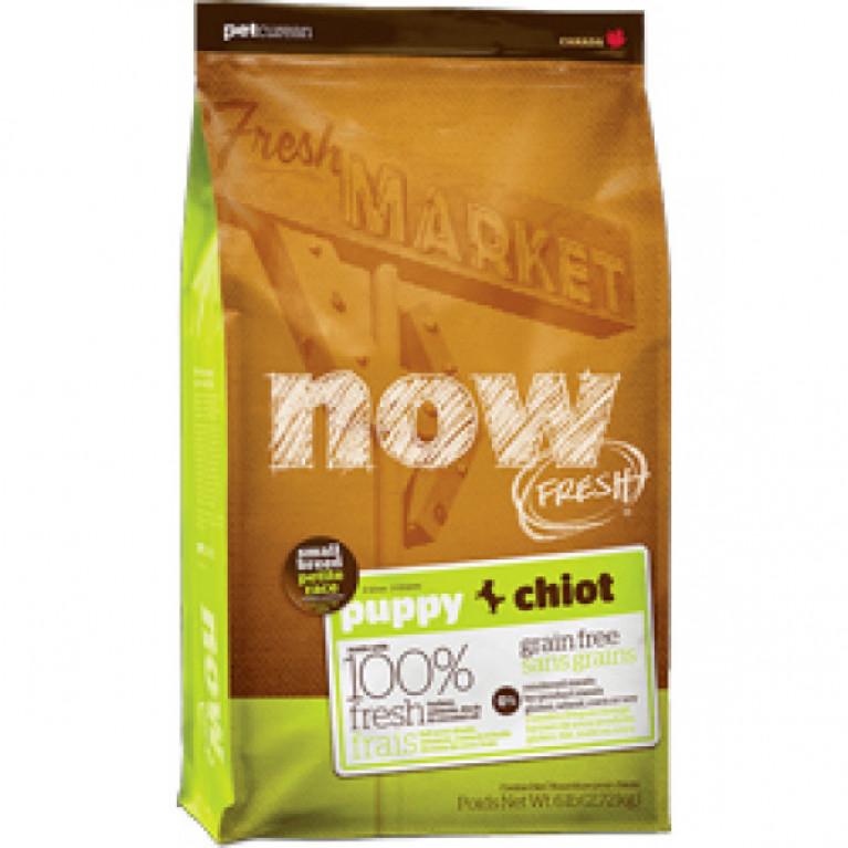 Now Fresh Small Breed Puppy Grain Free Беззерновой корм для щенков малых пород, с индейкой, уткой и овощами