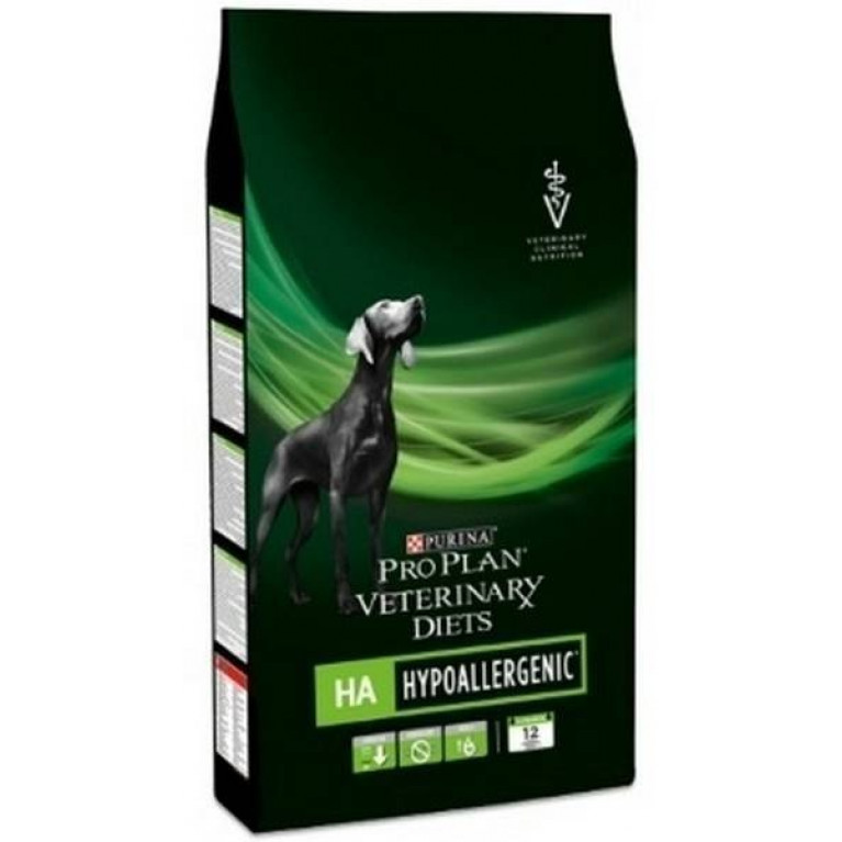 Purina Veterinary Diets HA Hypoallergenic Canine гипоаллергенный для собак 3кг