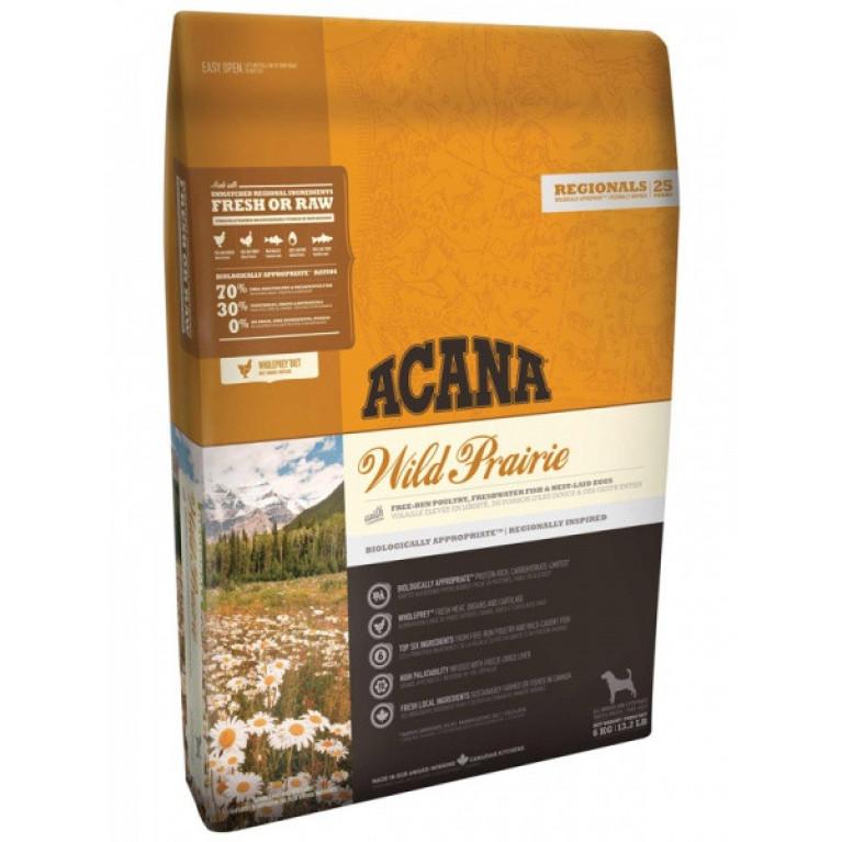 Acana Wild Prairie Dog Полноценный, сбалансированный рацион для собак всех пород и возрастов