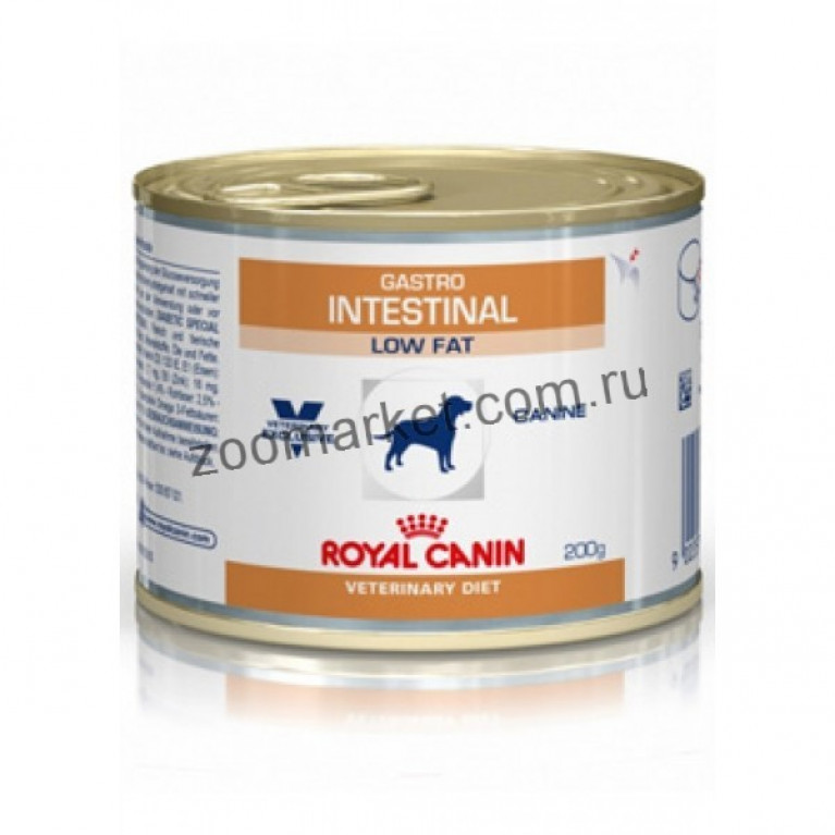 Royal Canin Gastro Intestinal Low Fat/Консервы для собак Диета с ограниченным содержанием жиров при нарушениях пищеварения