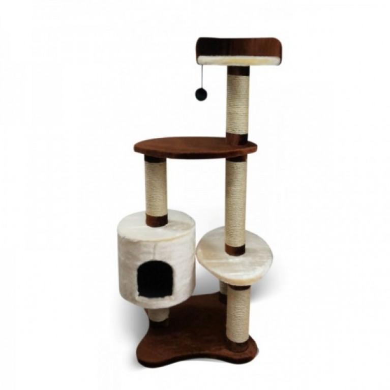 Когтеточка-домик для кошек KD061