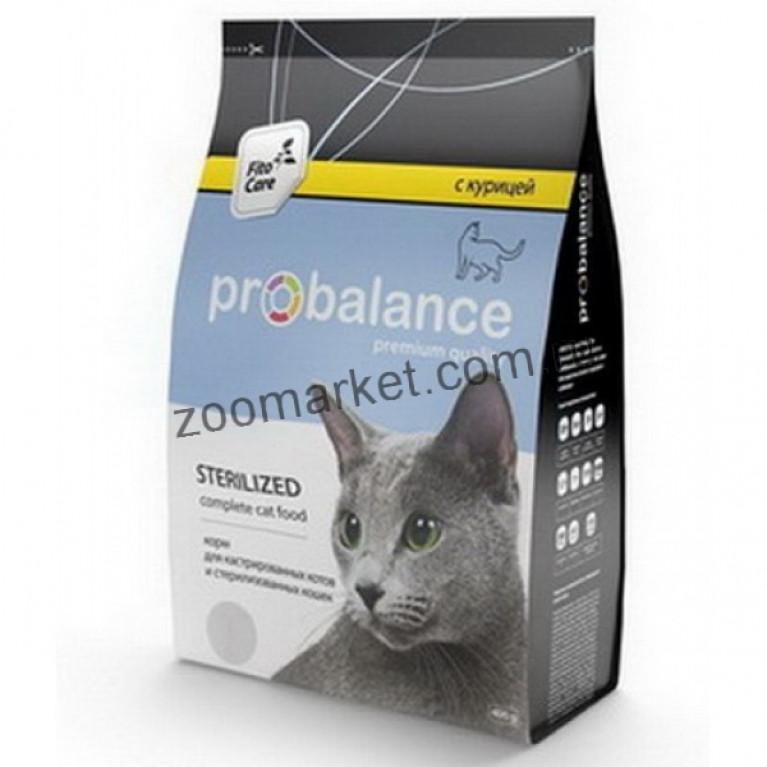 ProBalance Sterillized корм сухой для стерилизованных кошек