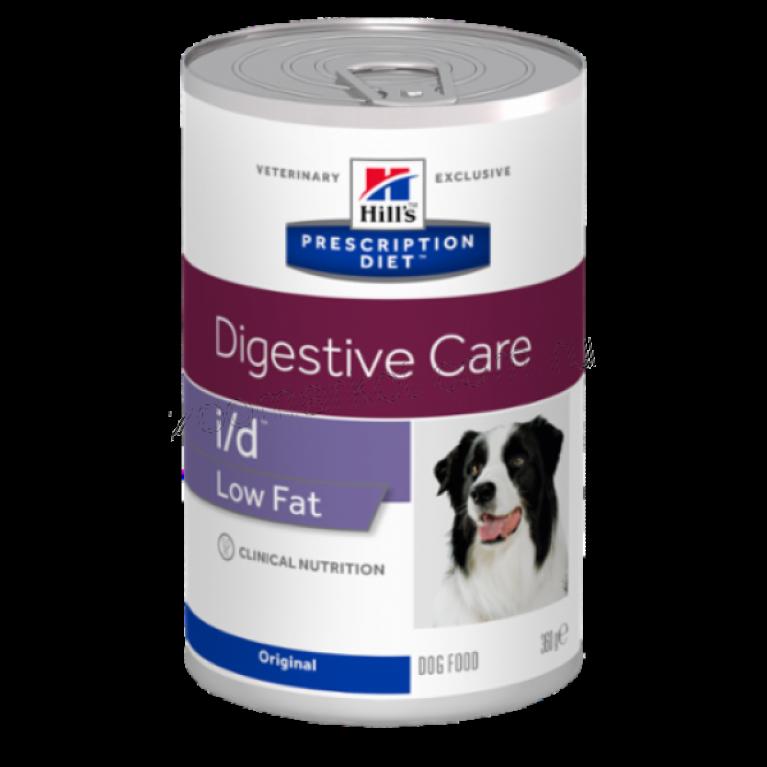Hill's Prescription Diet I/D Консервы для собак лечение заболеваний  ЖКТ Низкокалорийный 360 г