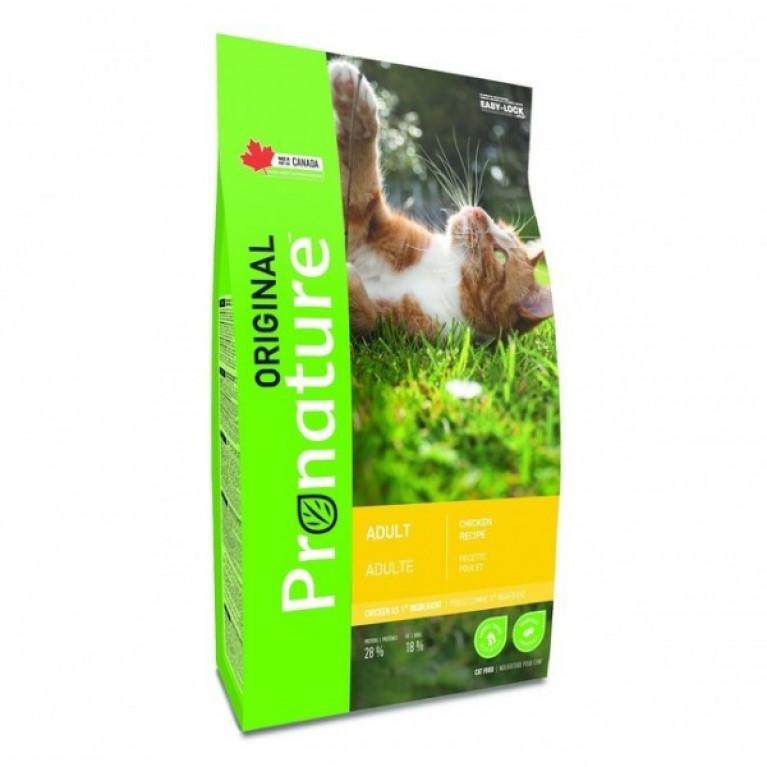 Pronature Original NEW Сухой корм для кошек (Курица)