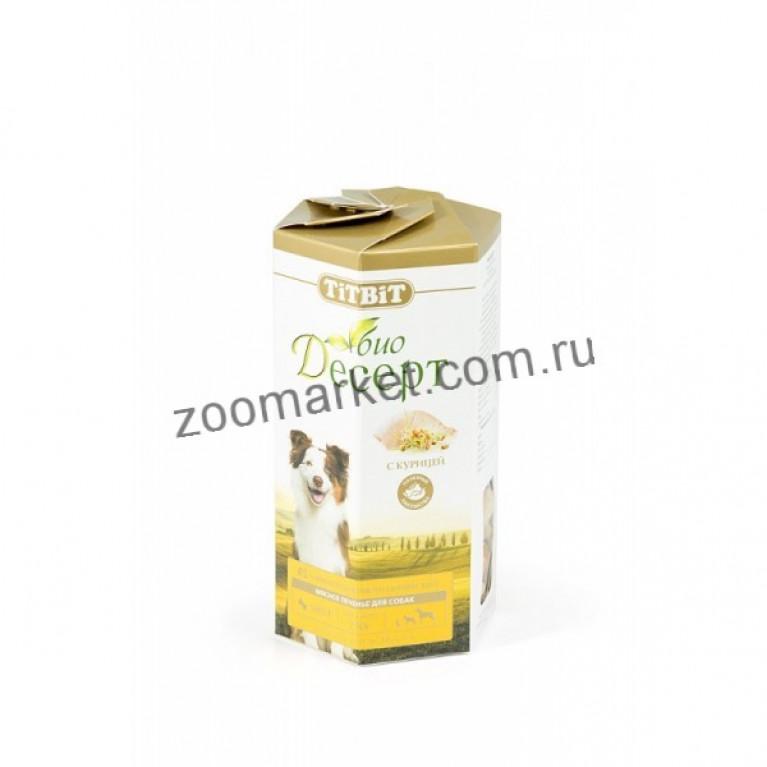 TiTBiT Био-Десерт Печенье с курицей мини, 250 г