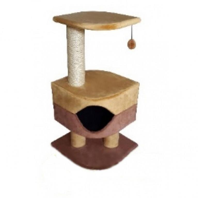 Когтеточка-домик для кошек KD049