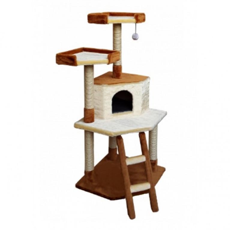 Игровой комплекс - когтеточка для кошек KD020
