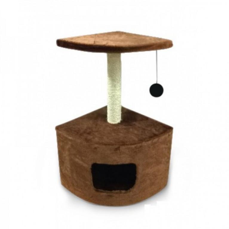 Когтеточка-домик для кошек KD032