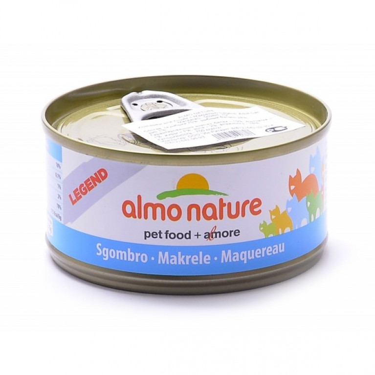 Almo Nature Legend HFC Adult Cat Mackerel  Консервы для кошек с макрелью, 75% мяса , 70 гр