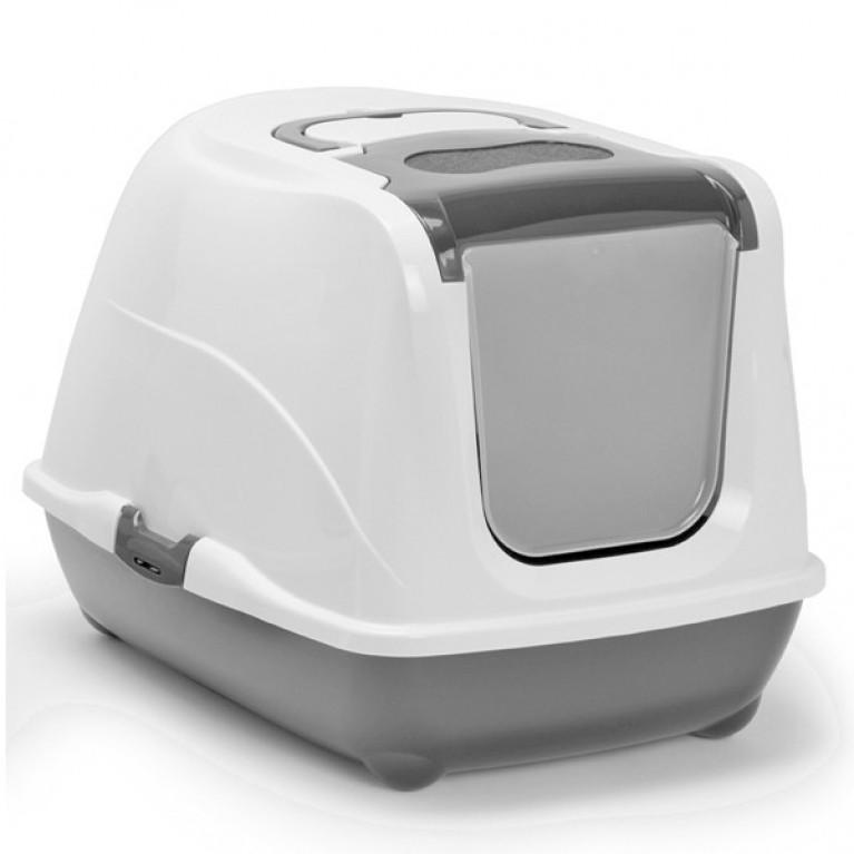 Туалет Модерна с откидным верхом  50х39х37 см цвет серый
