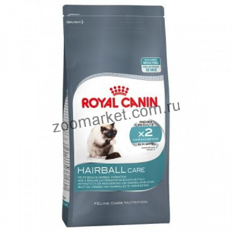 Royal Canin Hairball Care/Сухой корм для выведения волосяных комочков из желудка