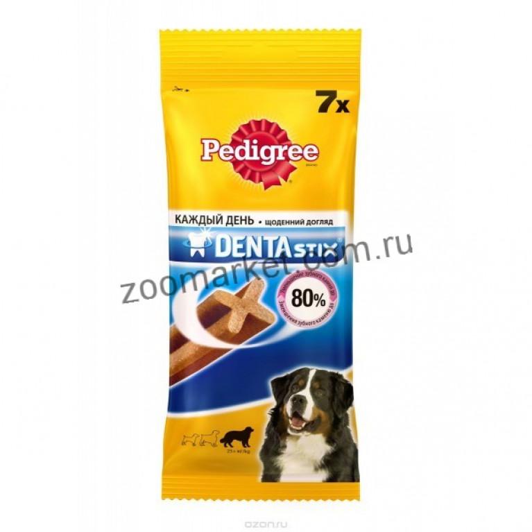 Pedigree Лакомство для крупных собак Дента Стикс 10*270г
