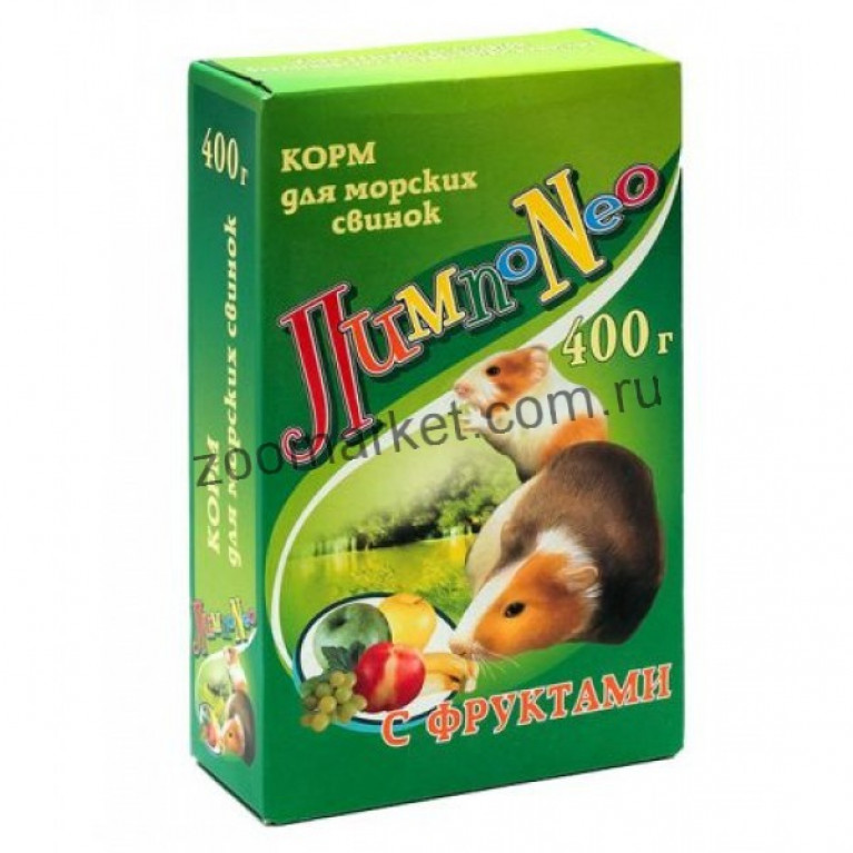 "LimpoNEO Корм для морских свинок ""Фрукты"", 500 гр"