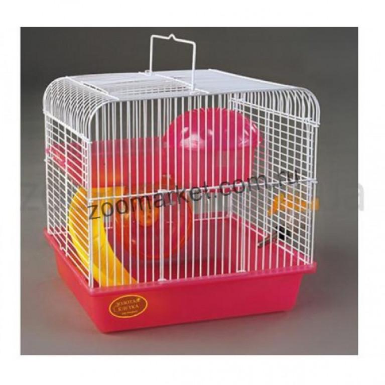 ЗК/Клетка для мелких грызунов ЭМАЛЬ 27*21*26см (комплект)