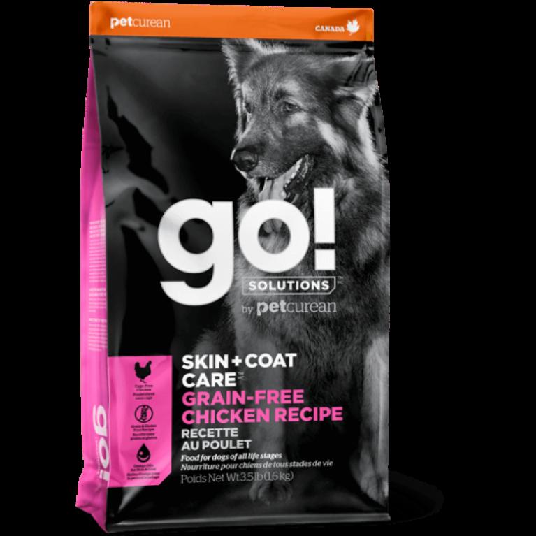 GO! SKIN + COAT Grain Free Chicken Recipe DF Беззерновой для Собак всех возрастов с Цельной Курицей