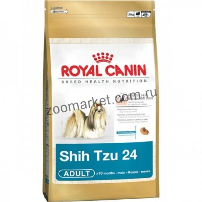 Royal Canin Shih Tzu 24/Для взрослого Ши Тцу: с 10 мес.