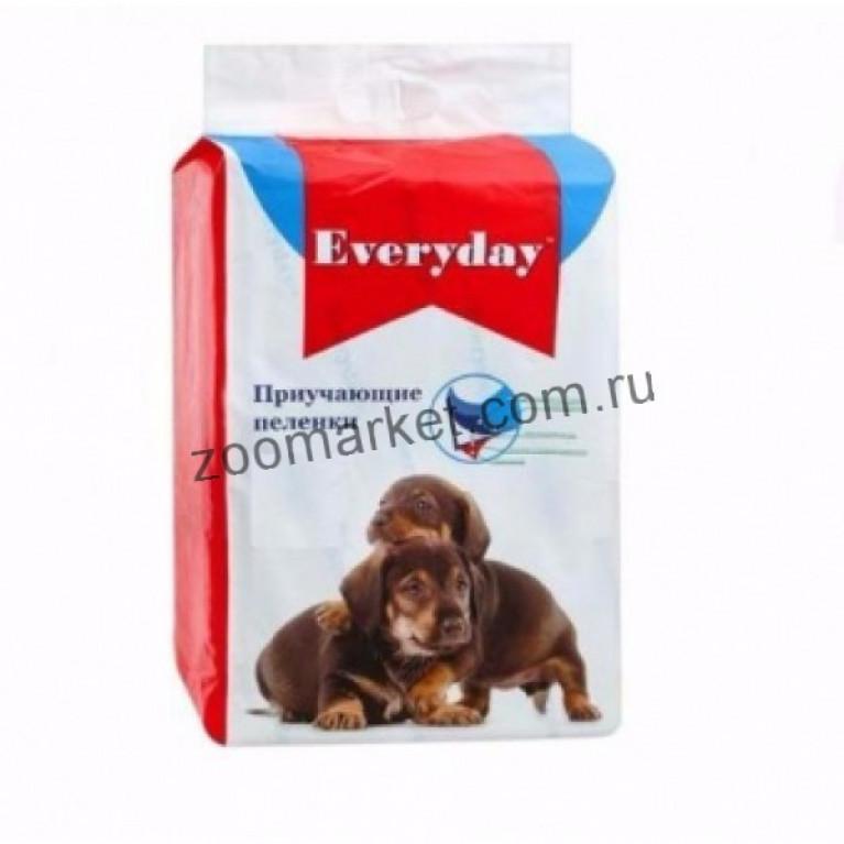 Everyday Пеленки  для животных гелевые 60*60 см., 10 шт