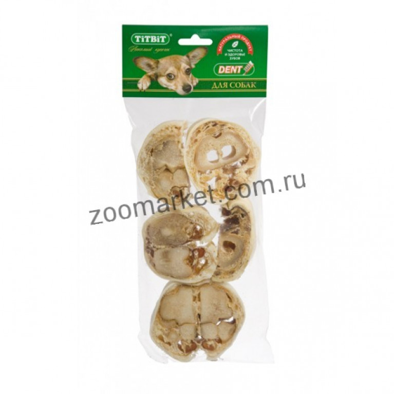 TiTBiT Лакомство  Крутон говяжий, мягкая упаковка 50г