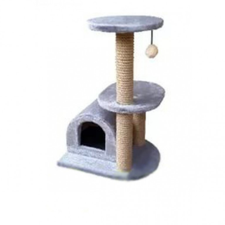 Когтеточка-домик для кошек KD084
