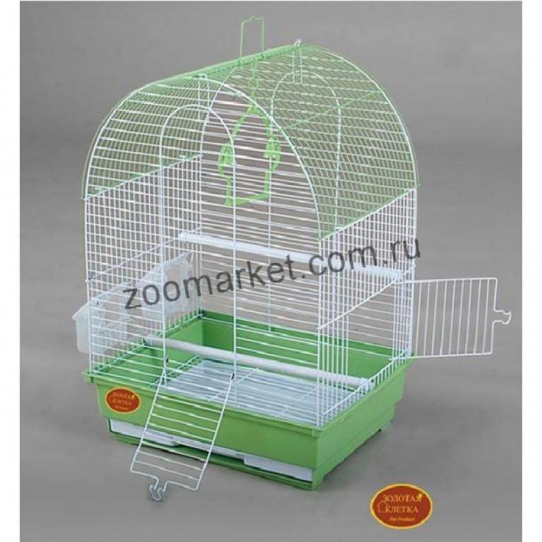 З/К/Клетка для птиц Средняя, ЭМАЛЬ (35*28*46см)