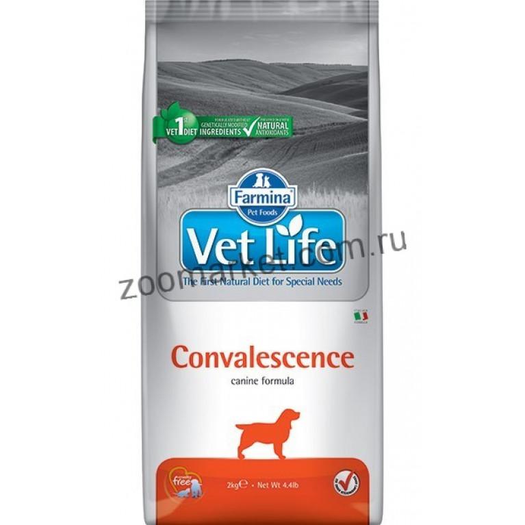 Farmina Vet Life Convalescence Диетическое питание для кормления собак в период выздоровления. 2 кг