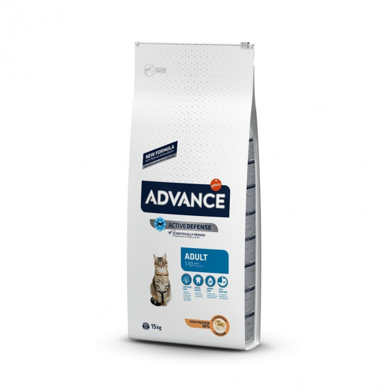 Advance Adult C&R Корм для взрослых кошек, курица и рис