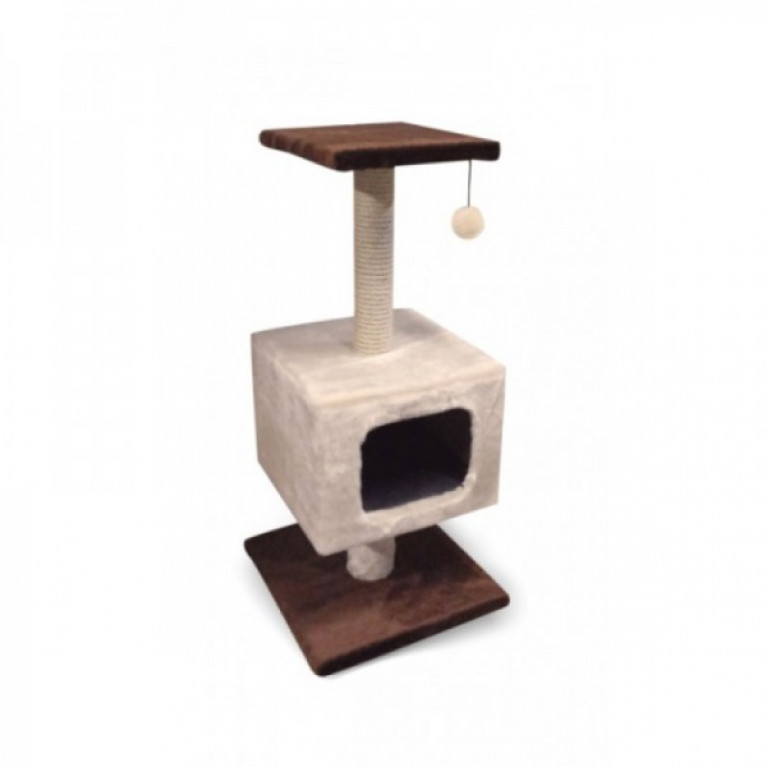 Когтеточка-домик для кошек KD035