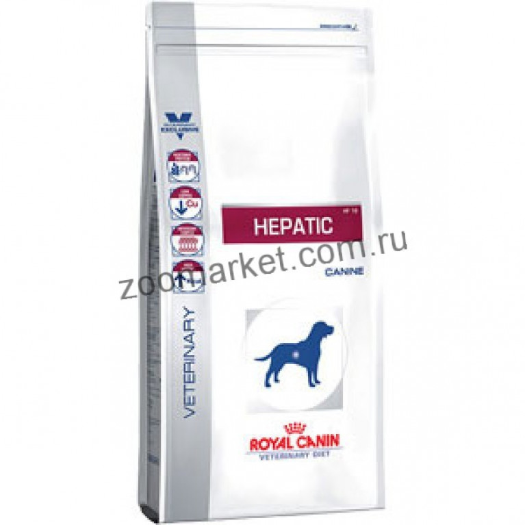 Royal Canin Hepatic HF16/Для собак при заболеваниях печени