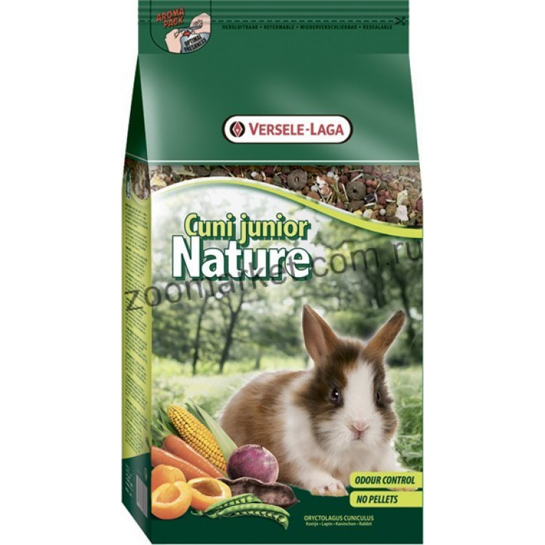 Versele-Laga Сuni Junior Nature Суперпремиум корм для крольчат, 700 гр