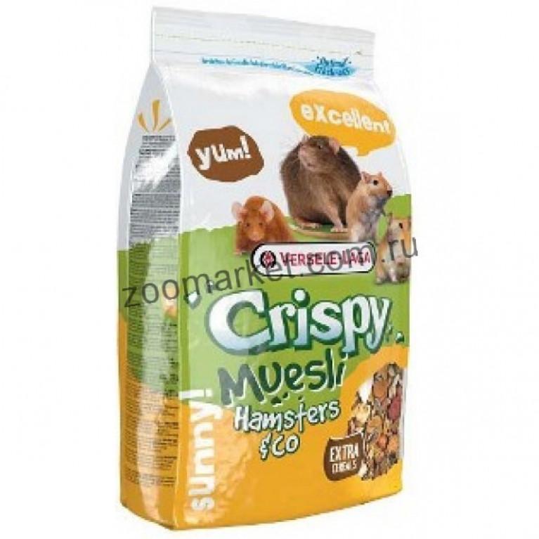 Versele-Laga Crispy Muesli Hamsters & Co Корм для хомяков и других грызунов 400 гр