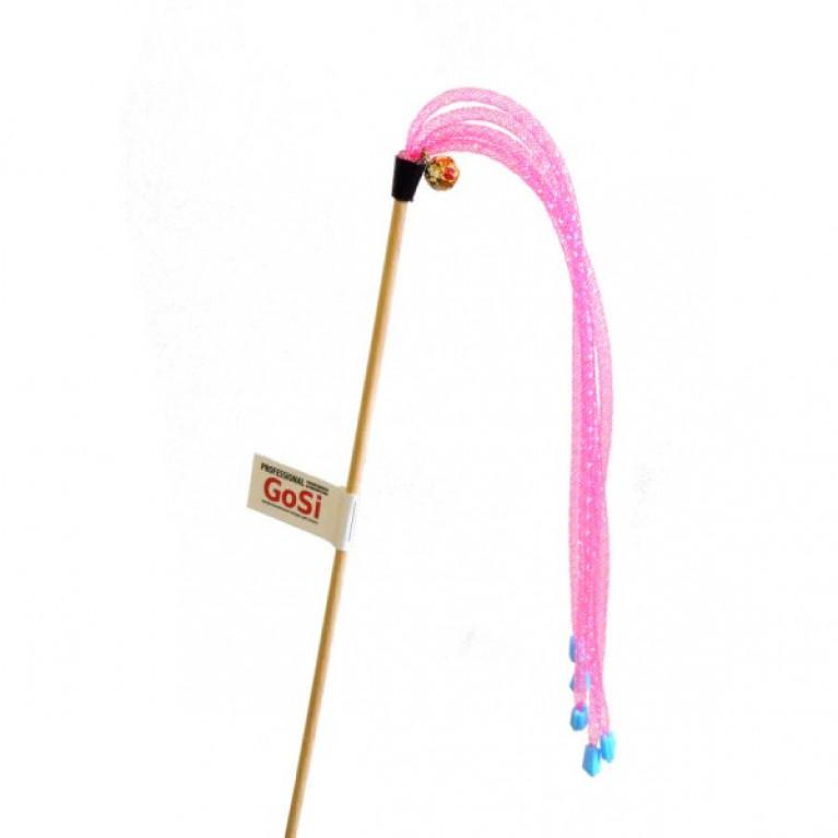 """GoSi Игрушка для кошек Махалка """"Трубочки длинные с наконечниками"""""""