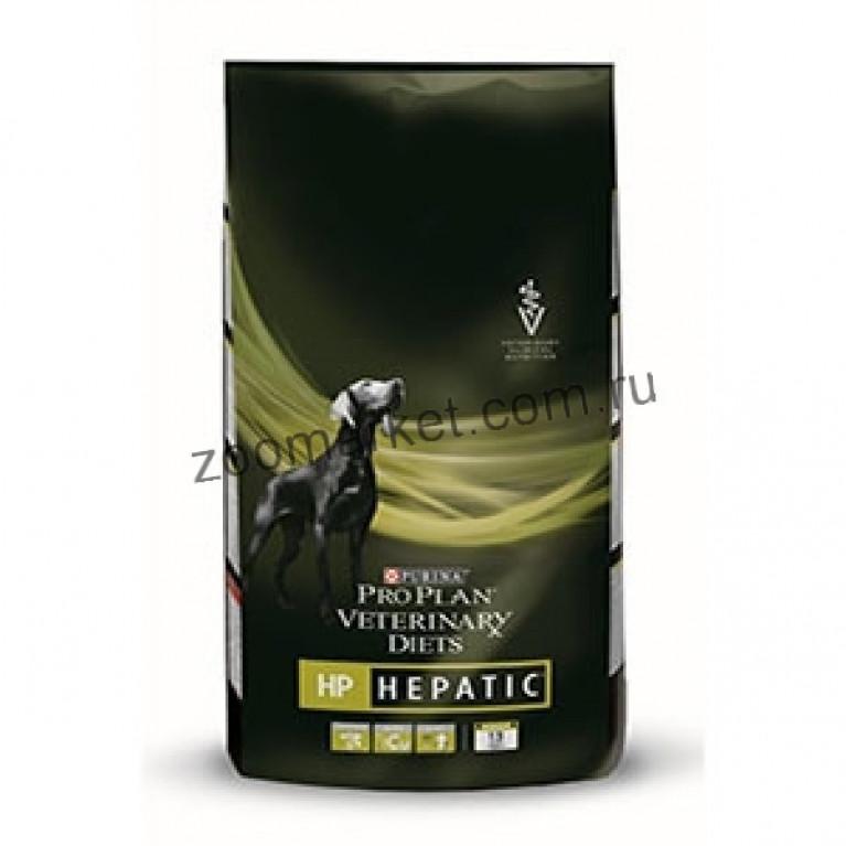 Purina HP Hepatic Сухой корм для собак при заболеваниях печени.3кг