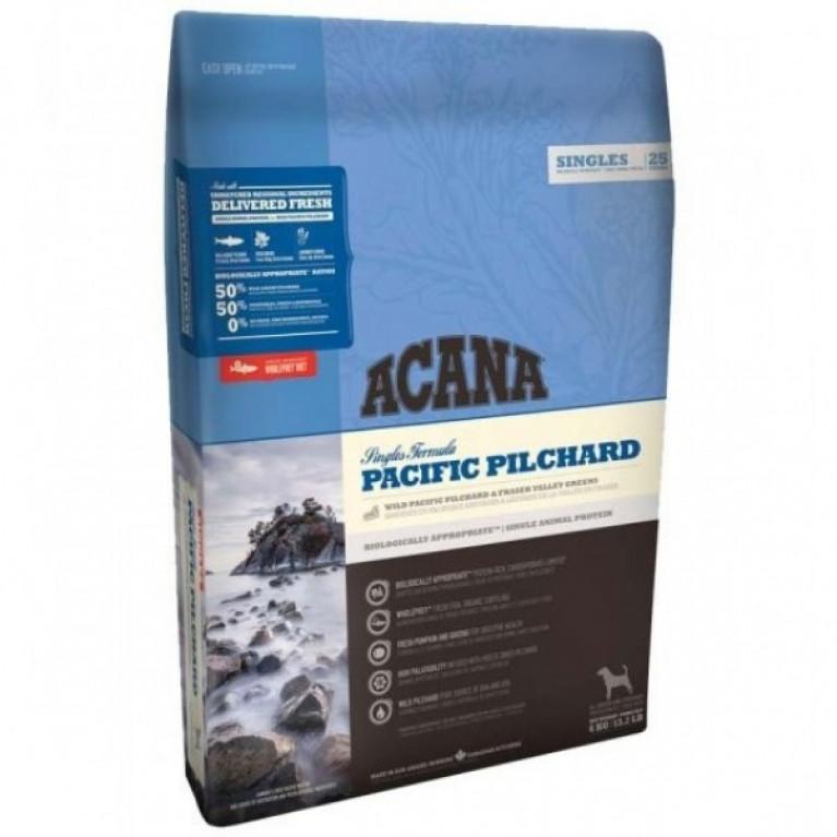 Acana Pacific Pilchard Dog Гипоаллергенный сухой корм для собак с чувствительным пищеварением (тихоокеанская сардина)