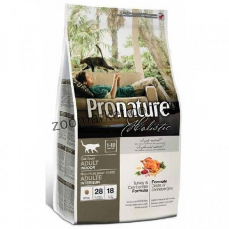 Pronature Holistic Turkey & Cranberries/ Корм для кошек (Индейка / Клюква)