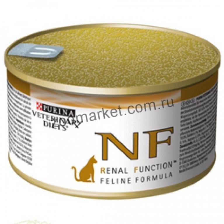 Purina Veterinary Diets NF Renal Feline/Лечебные консервы для кошек (при заболевании почек) 195 гр