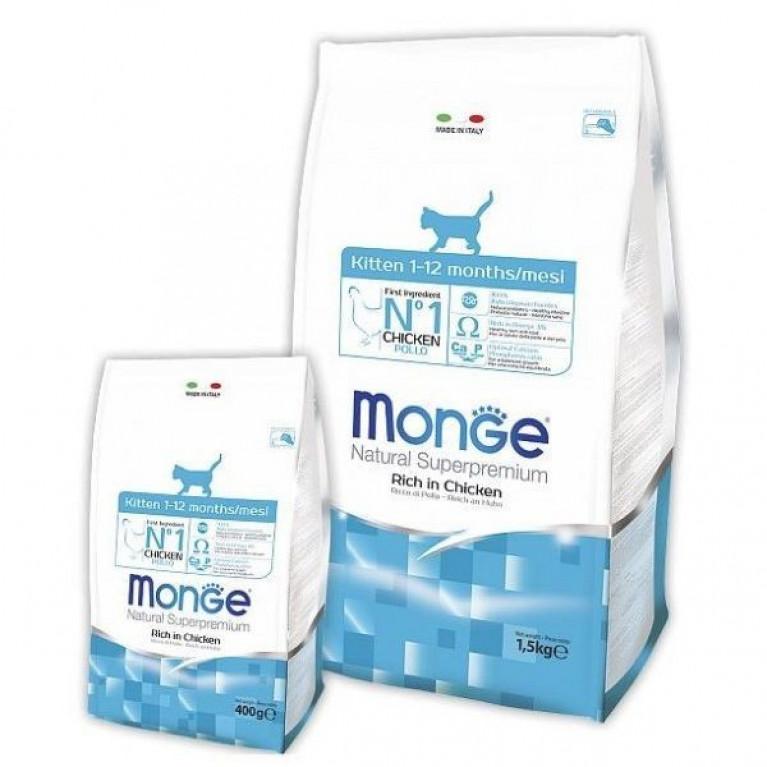 Monge Cat Daily Line Kitten Сухой корм для котят