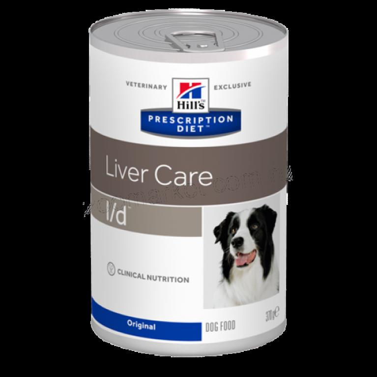 Hill's Prescription Diet L/D Консервы для собак лечение заболеваний печени 370 г