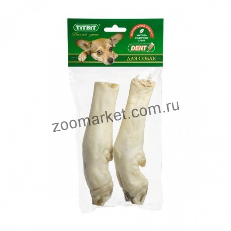 TiTBiT Лакомство Нога баранья, мягкая упаковка, 2 шт.