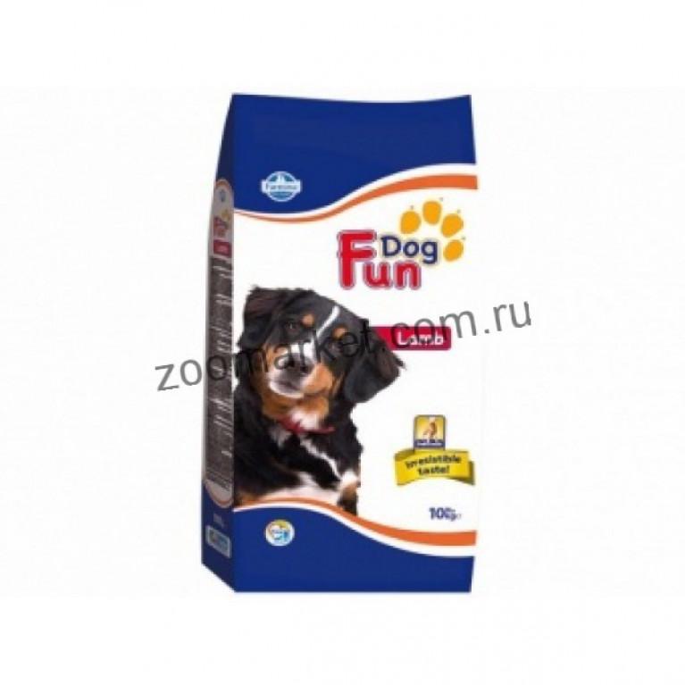 Farmina FUN Dog Lamb Полнорационный и сбалансированный корм для взрослых собак c Ягненком 10 кг