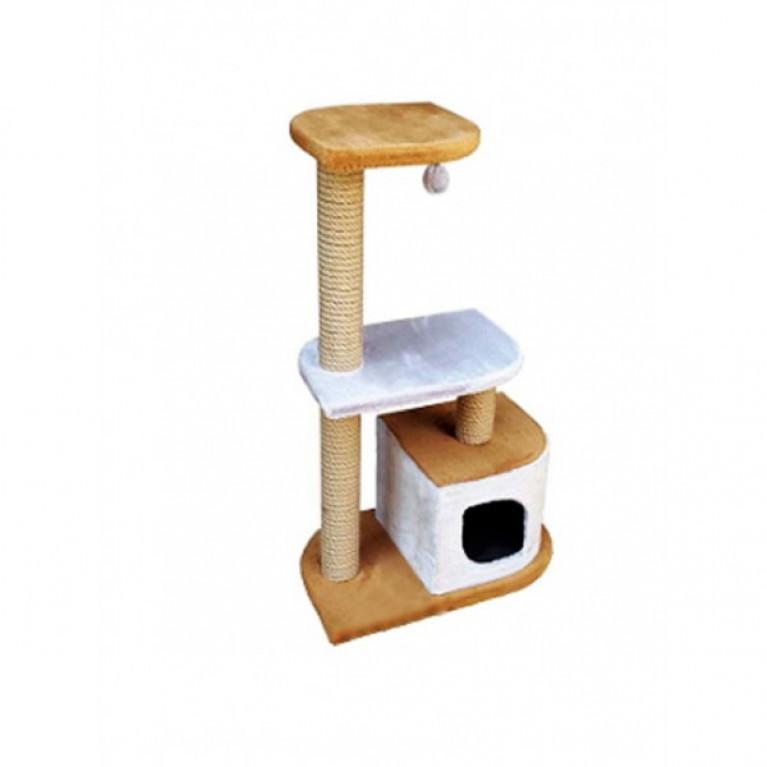 Когтеточка-домик для кошек KD046