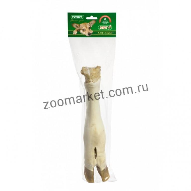 TiTBiT Лакомство Нога говяжья, мягкая упаковка, 35 см.