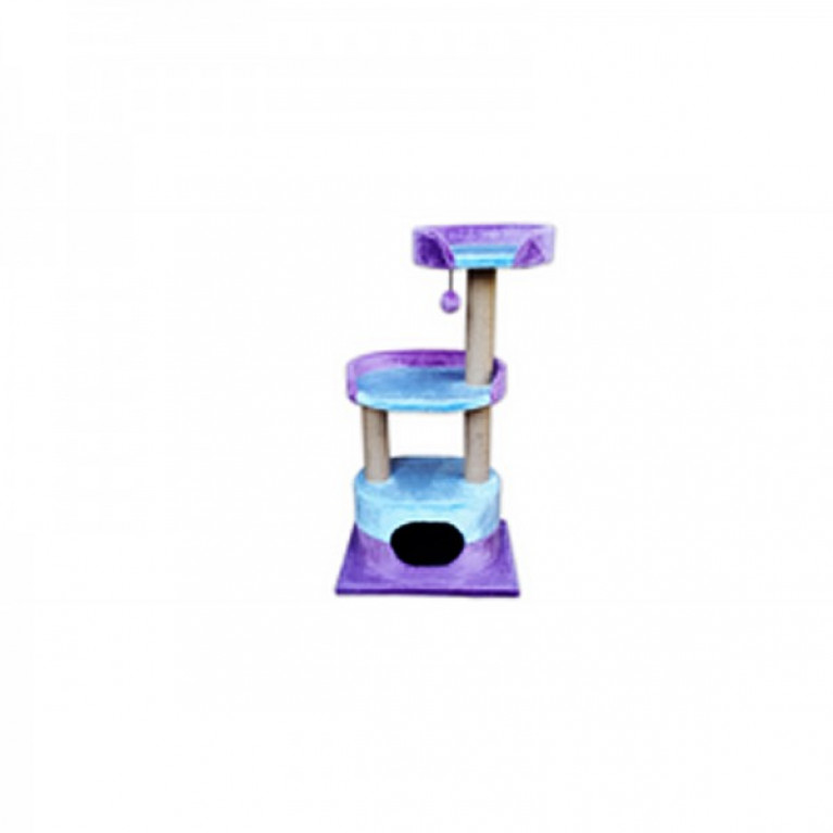 Когтеточка-домик для кошек KD070