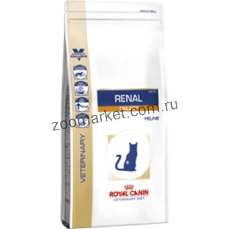 Royal Canin Renal Select Rse 24/Сухой корм для кошек при заболеваниях почек, 500 гр