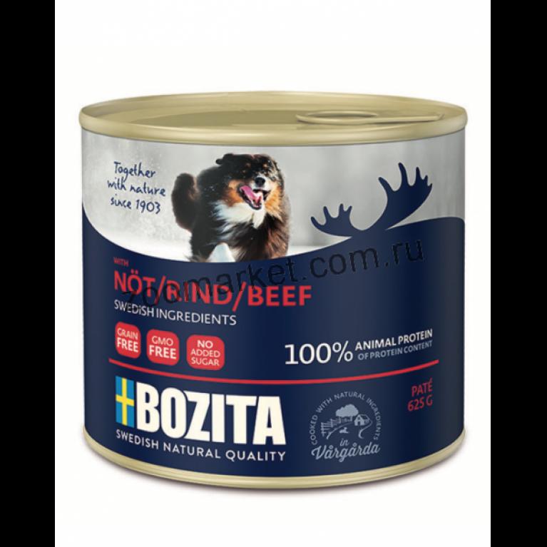 Bozita Консервы для собак паштет из говядины 625 г