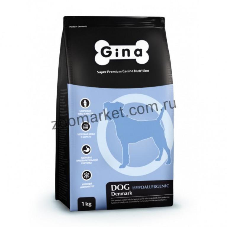 GINA Dog Hypoallergenic/Гипоаллергенный корм для собак высшей категории качества