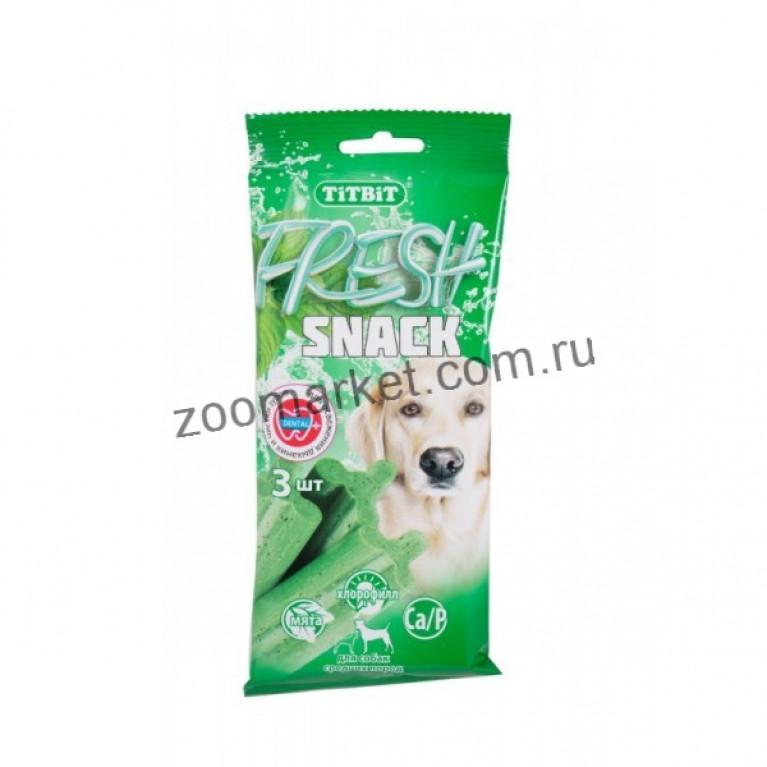 TiTBiT Fresh Снеки для средних собак 3 шт