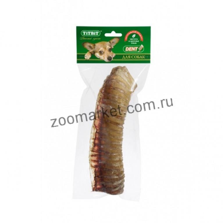 TiTBiT Лакомство Трахея говяжья, мягкая упаковка 1 шт.