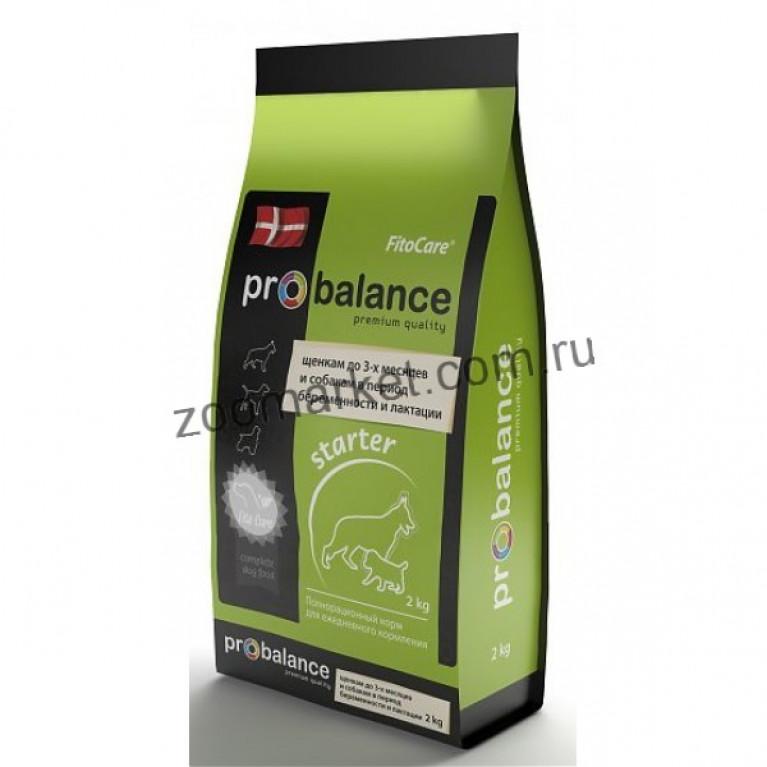 ProBalance Starter первый прикорм Сухой корм для щенков всех пород