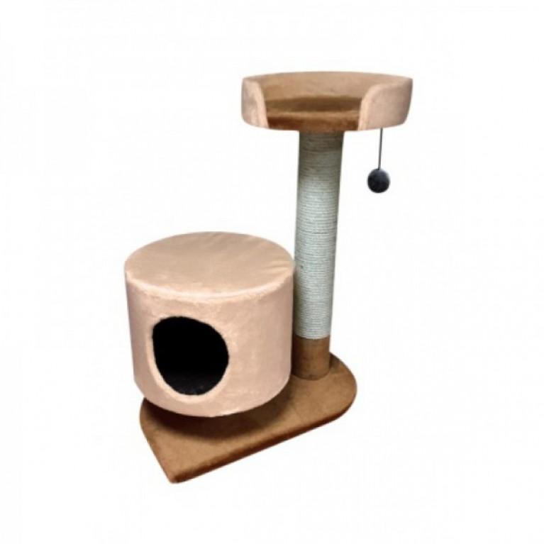 Когтеточка-домик для кошек KD081